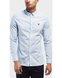 Lyle & Scott - Slim Poplin Long Sleeve Shirt - Lyst