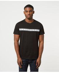 Guess Taped T-shirt - Black