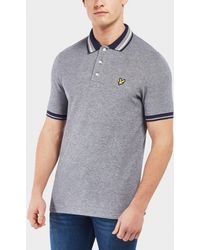 Lyle & Scott - Oxford Tipped Short Sleeve Polo Shirt - Lyst