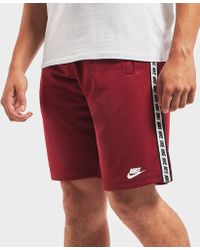 Nike - Taped Shorts - Lyst