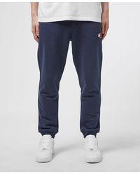 Tommy Hilfiger Badge Cuffed Fleece Pants - Blue