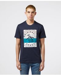 Original Penguin Original Graphic Short Sleeve T-shirt - Blue