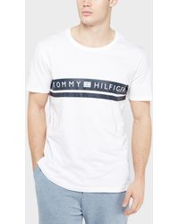 Tommy Hilfiger - Chest Panel T-shirt - Lyst