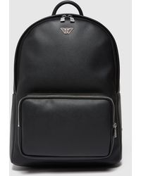 Emporio Armani Business Black Backpack