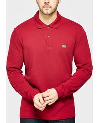 Lacoste - Long Sleeve Polo Shirt - Lyst