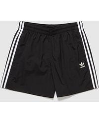 adidas Originals 3-stripe Swim Shorts - Black
