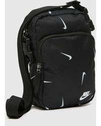 Nike Heritage Cross Body Bag - Black