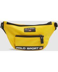 Polo Ralph Lauren Sport Logo Bum Bag - Yellow