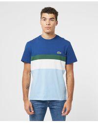 Lacoste Oversized Croc Short Sleeve T-shirt - Blue