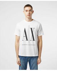 Armani Exchange Armani Icon T Shirt - White