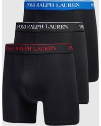 Polo Ralph Lauren 3 Pack Boxer Shorts - Blue