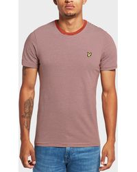 Lyle & Scott - Feeder Stripe Short Sleeve T-shirt - Lyst