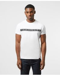 Guess Taped T-shirt - White