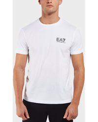 EA7 - Core Crew Short Sleeve T-shirt - Lyst