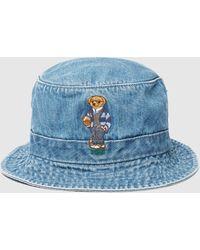 Polo Ralph Lauren - Bear Bucket Hat - Lyst