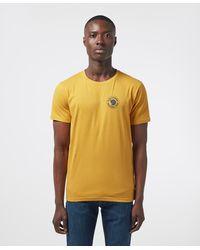 Fjallraven 1960 Logo Short Sleeve T-shirt - Yellow