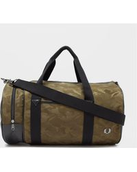 Fred Perry - Camo Barrel Bag - Lyst