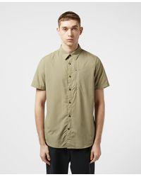 Fjallraven Abisko Hike Short Sleeve Shirt - Grey
