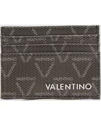 Valentino Garavani Barty Card Holder - Black