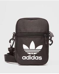 adidas Originals Trefoil Festival Bag - Black
