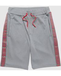 HUGO Dorts Tape Shorts - Grey