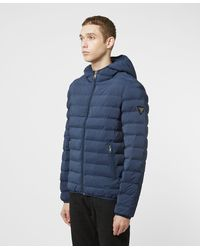 Guess Seamless Bubble Jacket - Exclusive - Blue