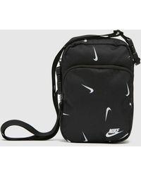 Nike Sportswear Heritage Cross Body Bag - Black