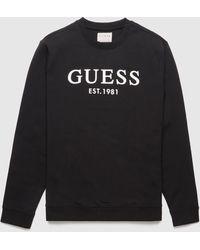 Guess Beau Logo Sweatshirt - Black