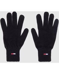 Tommy Hilfiger Small Flag Gloves - Black