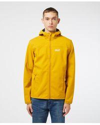 Jack Wolfskin Northern Point Softshell Jacket - Yellow