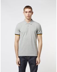 K-Way Vincent Short Sleeve Polo Shirt - Online Exclusive - Gray