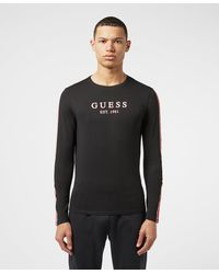 Guess Long Sleeve T-shirt - Black
