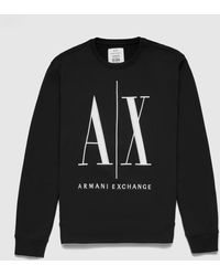Armani Exchange Icon Sweatshirt - Grey