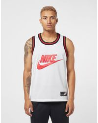 Nike Mesh Vest Tank Top - White