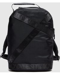 Valentino Garavani Klive Strap Backpack - Black