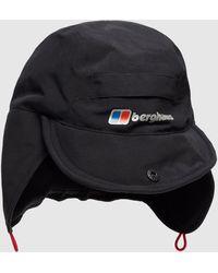 Berghaus Hydroshell Cap - Black
