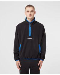 adidas Originals Adventure Half Zip Fleece - Blue