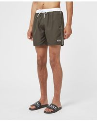 BOSS by Hugo Boss Starfish Swim Shorts - Green