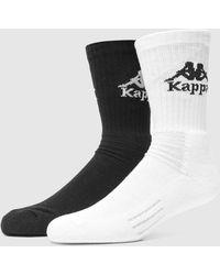 Kappa 3-pack Welt Socks - Black
