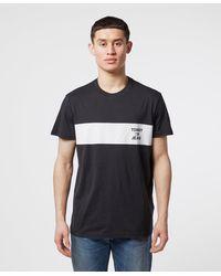 Tommy Hilfiger - Chest Stripe Short Sleeve T-shirt - Lyst