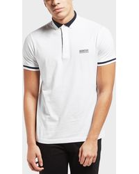 Barbour - International Throttle Short Sleeve Polo Shirt - Lyst