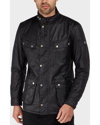 Barbour | International Duke Wax Lightweight Jacket | Lyst