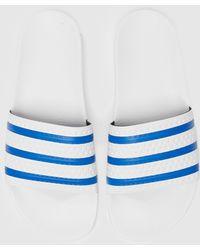 adidas Originals Adilette Slides - White