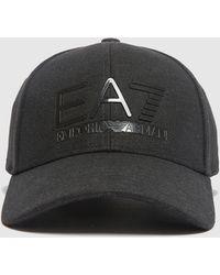EA7 Train Logo Small Pouch Bag - Black