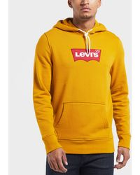 Levi's - Embroidered Logo Overhead Hoodie - Lyst