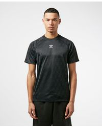 adidas Originals Synthetic Mono Jersey in Red for Men - Lyst
