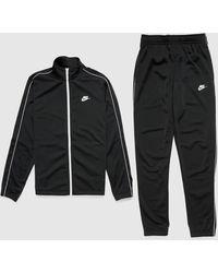Nike Poly Tracksuit - Black