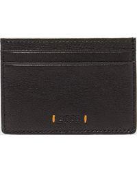 BOSS - Orange Leather Card Case - Lyst