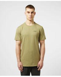 Jack Wolfskin Essential Short Sleeve T-shirt - Green