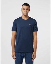 Paul & Shark Short Sleeve Badge T-shirt - Blue